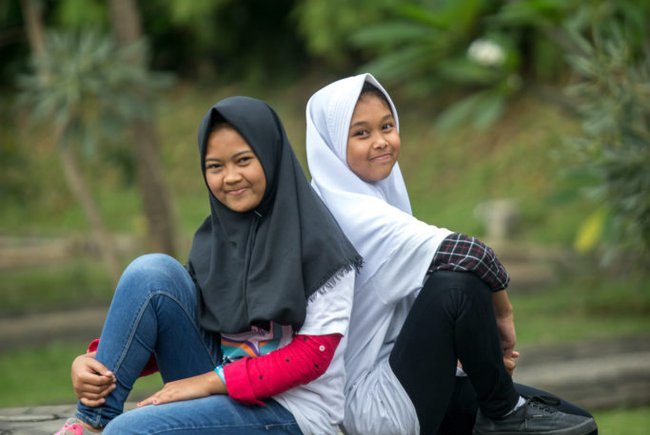 Young participants in Youth Voices against Child Marriage, Jakarta, Indonesia Photo: Graham Crouch/Girls Not Brides