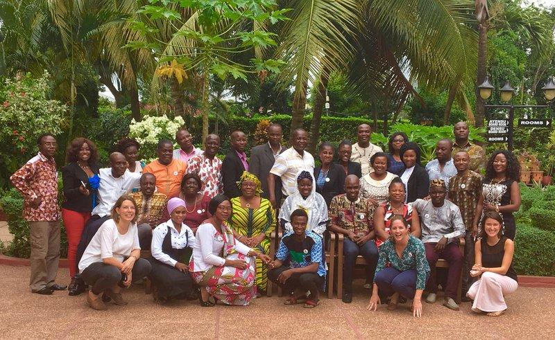 Girls Not Brides' advocacy training, Accra, November 2017