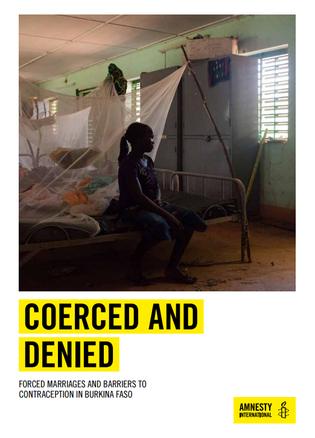 Amnesty BF report