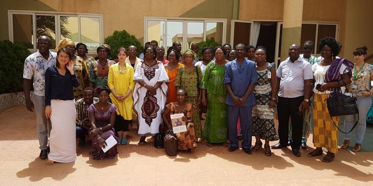 Girls Not Brides Burkina Faso coalition-building workshop, Ouagadougou, May 2018