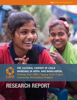 CARE - Cultural context of CM in Nepal, Bangladesh