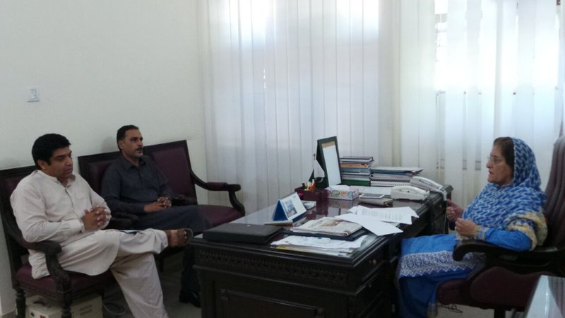CSO meet with advisor to chief minister, KP, Pakistan 2