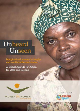 Unheard.Unseen. A Global Agenda for Action for 2020 and Beyond