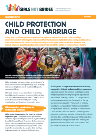 Child Protection and Child Marriage over ENG