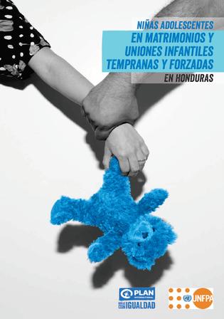 Cover_Ninas adolescentes en Honduras_Plan+UNFPA