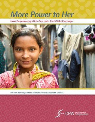 ICRW - More power to her