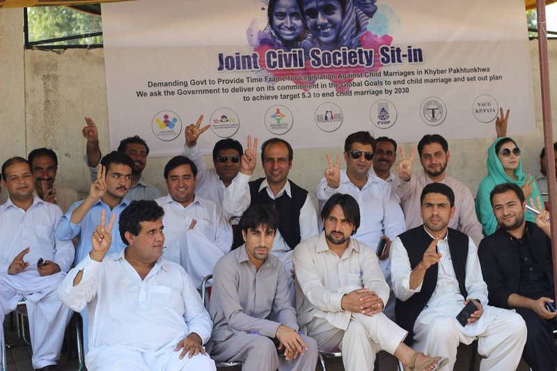 Joint civil society sit-in