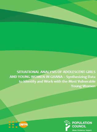 Situational analysis of adolescent girls