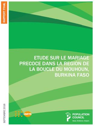 Pop COuncil UNFPA Burkina