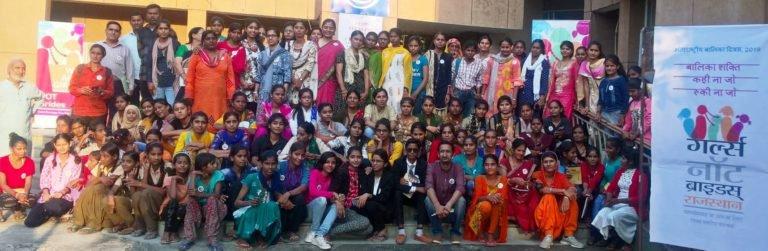 Girls Not Brides Rajasthan celebrate International Day of the Girl in Jaipur