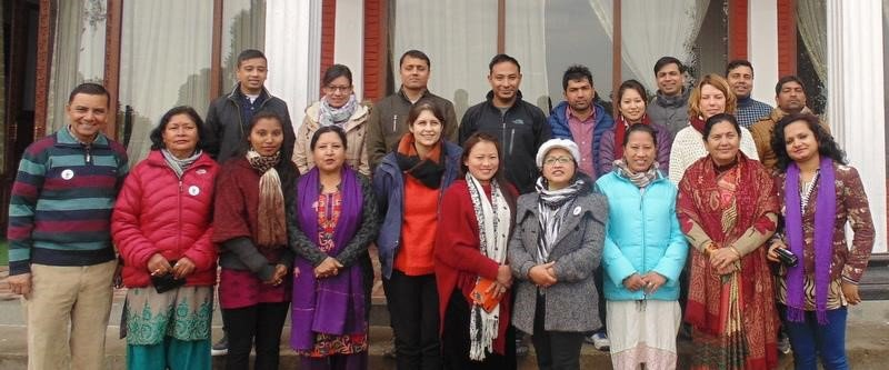 Strategic planning meeting in Nepal, January 2016