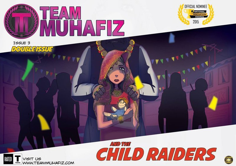 Team Muhafiz and the child raiders tackles the issue of child marriage in Pakistan
