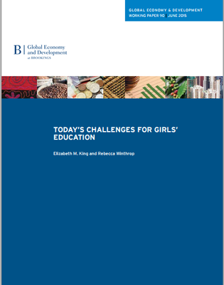 Today's challenges for girls education