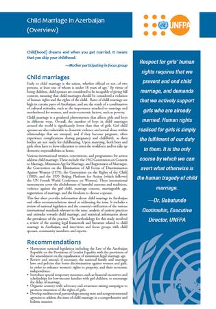UNFPA Azerbaijan 2014