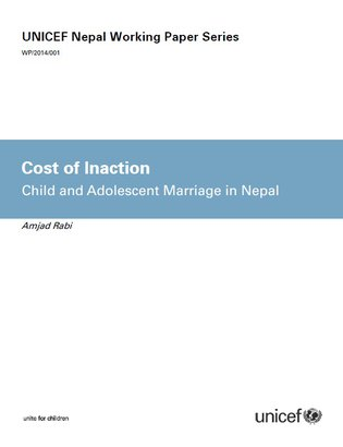 UNICEF Nepal - cost of inaction