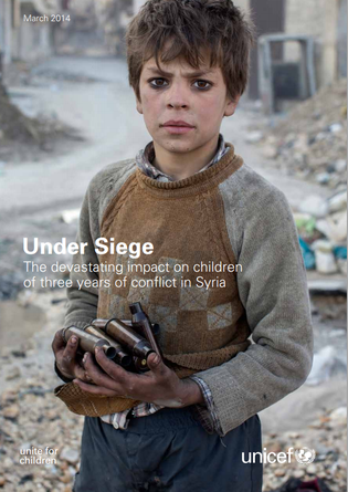 Early marriage, part of the devastating impact of three years of conflict in Syria - UNICEF
