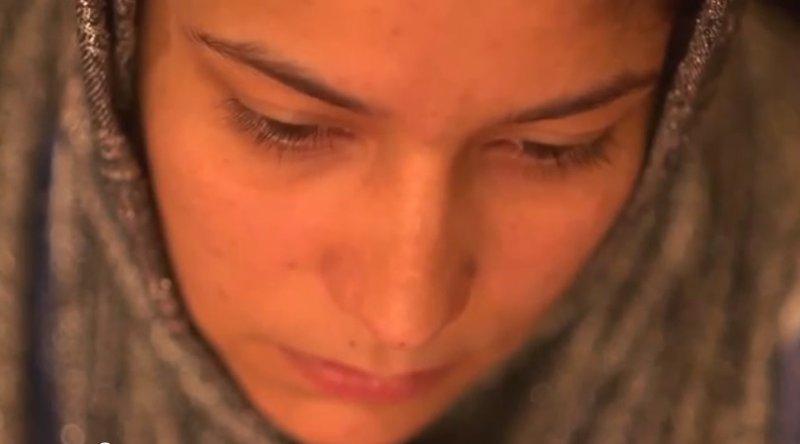 Zakia, an Afghan runaway child bride.