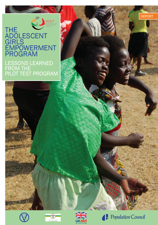 population council girl empowerment