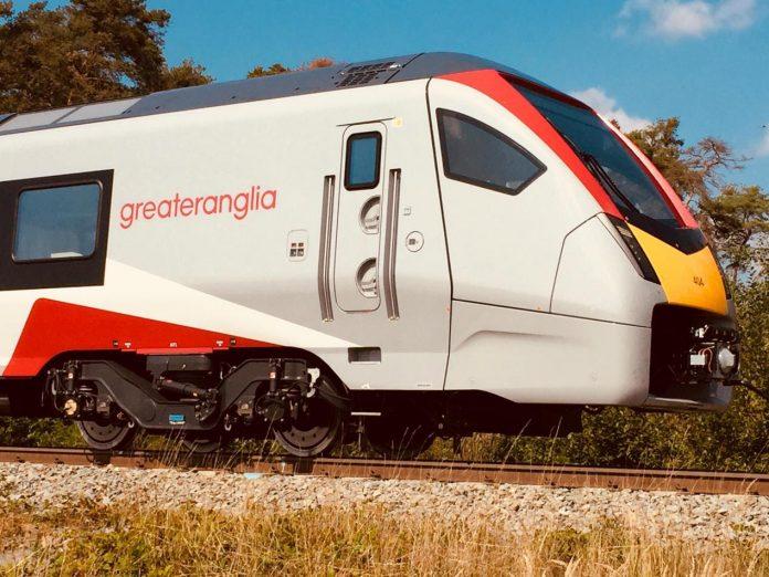 Photo: Greater Anglia.