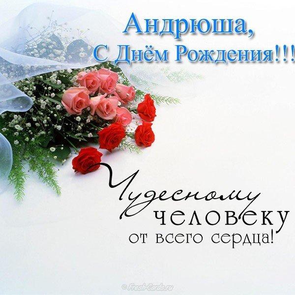 Днем, поздравления открытки для андрея