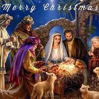 Американская или английская рождественская открытка фото