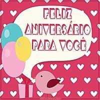 Бразильская открытка с днем рождения