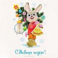 Детская новогодняя открытка рисунок