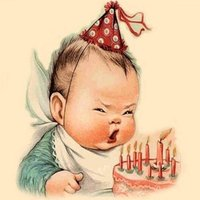 Дореволюционная красивая открытка с днём рождения мужчине