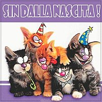Итальянская открытка с днем рождения мужчине