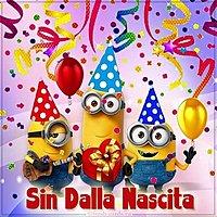 Итальянская открытка с днем рождения
