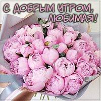 Картинка букет цветов с добрым утром любимая