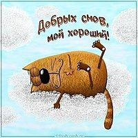 Картинка добрых снов мой хороший