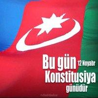 Картинка на день конституции Азербайджана
