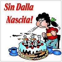 Картинка с днем рождения мужчине на итальянском