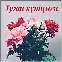 Картинка с днем рождения на казахском языке