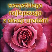 Картинка с днем рождения на польском