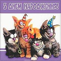 Картинка с днем рождения на украинском