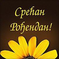 Картинка с днем рождения женщине на сербском