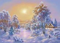 Хорошо зимой в деревне