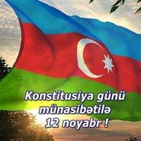 Красивая картинка на день конституции Азербайджана