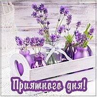 Красивая открытка приятного дня