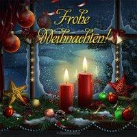 Немецкая открытка к рождеству
