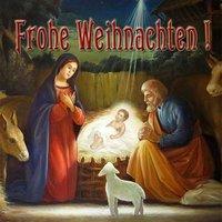Немецкая открытка с рождеством