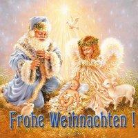 Немецкая рождественская открытка