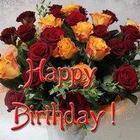 Открытка happy birthday бесплатно
