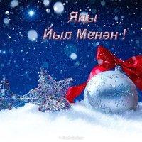 Открытка на новый год на башкирском языке