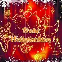 Открытка рождество на немецком