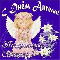 Открытка с днем ангела Андрея