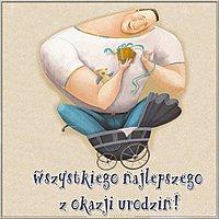 Открытка с днем рождения мужчине на польском