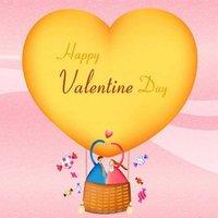 Открытка с днем Святого Валентина на английском